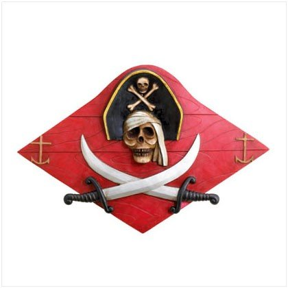 Pirate Plank Wall Decor