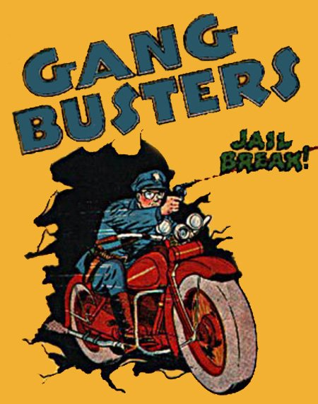 GANG BUSTERS (1935-1958)  Old Time Radio - CD - 103 mp3