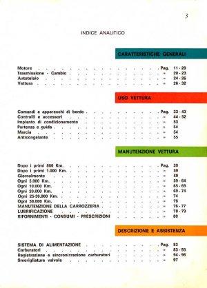 MASERATI MEXICO/QUATTROPORTE ITALIAN MANUAL IN PDF form