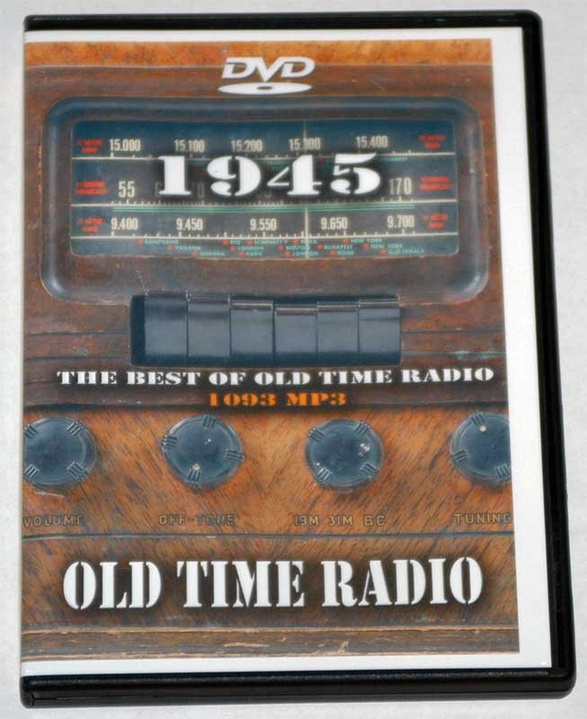 1945: THE BEST OF OLD TIME RADIO -  2 DVD SET-1093 mp3