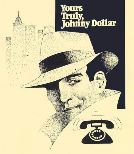 YOURS TRULY JOHNNY DOLLAR (1948-62) OTR DVD-ROM-732 mp3