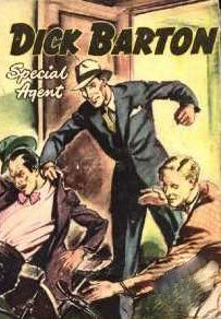 DICK BARTON, SPECIAL AGENT (1946)  Old Time Radio - CD-ROM  10 mp3-Noel Johnson