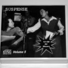 THE SUSPENSE COLLECTION - Volume 5 - OLD TIME RADIO - 12 AUDIO CD - 24 SHOWS