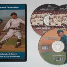 BASEBALL GAMES & BASEBALL CARD OLD TIME RADIO-3 CD-ROM 113 mp3 and 3734 Photos