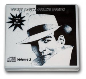 JOHNNY DOLLAR COLLECTION Volume 2 OLD TIME RADIO - 12 AUDIO CD - 24 EPISODES
