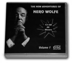 THE NEW ADVENTURES OF NERO WOLFE OLD TIME RADIO - 13 AUDIO CD - 26 Shows