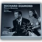 RICHARD DIAMOND, PRIVATE DETECTIVE Vol.1 OLD TIME RADIO - 12 AUDIO CD - 24 Shows