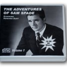 THE ADVENTURES OF SAM SPADE - OLD TIME RADIO - 12 AUDIO CD - 24 Shows