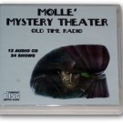 MOLLE' MYSTERY THEATER Volume 1 OLD TIME RADIO - 12 AUDIO CD - 24 SHOWS