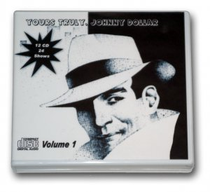 YOURS TRULY, JOHNNY DOLLAR Vol. 1 OLD TIME RADIO - 12 AUDIO CD - 24 SHOWS