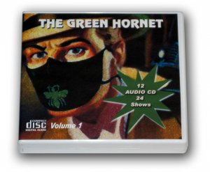 THE GREEN HORNET Volume 1 -  OLD TIME RADIO - 12 AUDIO CD - 24 Shows
