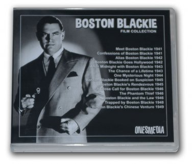 BOSTON BLACKIE FILM COLLECTION - 14 MOVIES - 8 DVD-R with CHESTER MORRIS