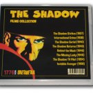 THE SHADOW FILMS COLLECTION - 6 DVD-R - 8 MOVIES - 1937-1958