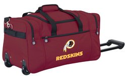 Wheeled NFL Duffle Cooler - Washington Redskins