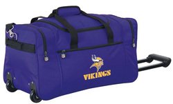 Wheeled NFL Duffle Cooler - Minnesota Viking