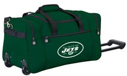 Wheeled NFL Duffle Cooler - New York Jets