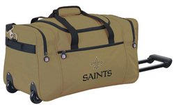 Wheeled NFL Duffle Cooler - New Orleans Saints
