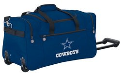 Wheeled NFL Duffle Cooler - Dallas Cowboys