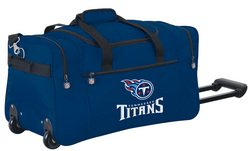Wheeled NFL Duffle Cooler - Tennessee Titans