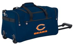 Wheeled NFL Duffle Cooler - Chicago Bears