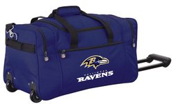 Wheeled NFL Duffle Cooler - Baltimore Ravens
