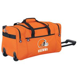 Wheeled NFL Duffle Cooler - Cleveland Browns