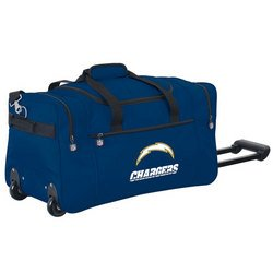 Wheeled NFL Duffle Cooler - San Diego Chargers