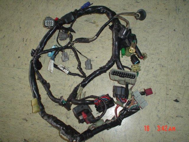 2004 05 Gsxr 600 750 Main Wire Engine Wiring Harness 2004 Gsxr 600 Wiring Harness