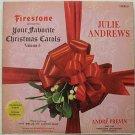 Julie Andrews & Andre Previn Your Favorite Christmas Carols Vol. 5 LP