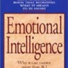 Daniel Goleman Emotional Intelligence Audiobook Cassette