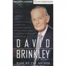 David Brinkley A Memoir Audiobook Cassette