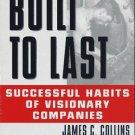 James C. Collins and Jerry I Porras Built To Last  Audiobook Cassette