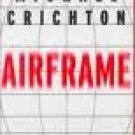 Michael Crichton Airframe Audiobook Cassette