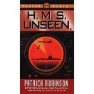 Patrick Robinson H.M.S. Unseen Audiobook Cassette
