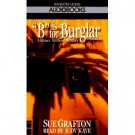 Sue Crafton B is for Burglar Audiobook Cassette