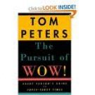 Tom Peters The Pursuit of Wow Audiobook Cassette