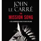 John Le Carre The Mission Song Audiobook CD