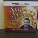 James Van Praagh Spirit Speaks Meditations and Conversations About Past Lives Audiobook CD