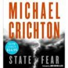 Michael Crichton State of Fear Audiobook CD