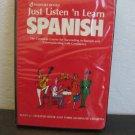 Passport Books Just Listen n' Learn Spanish Audiobook Cassette
