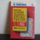 Albert J. Lowery How You Can Become Financially Independent Audiobook Cassette