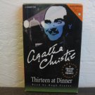 Agatha Christie Thirteen at Dinner Audiobook Cassette