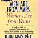 John Gray Ph. D. Men Are From Mars Women Are From Venus  Audiobook Cassette
