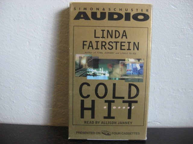 Linda Fairstein Gold Hit Audiobook Cassette