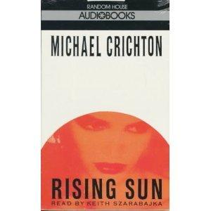 Michael Crichton Rising Sun Audiobook Cassette