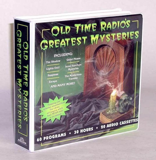 OLD TIME RADIO'S GREATEST MYSTERIES~20 Cass~30hrs.