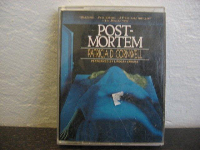 Patricia D. Cornwell Post Mortem Audiobook Cassette