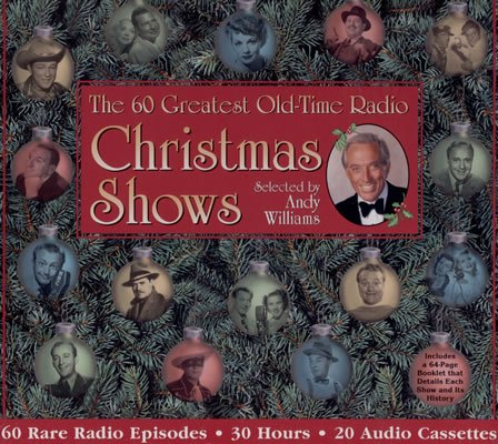 The 60 Greatest Old Time Radio Christmas Shows Audiobook Cassette