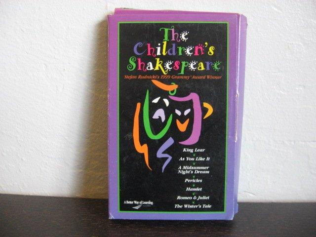 Stephan Rudnicki The Childrens's Shakespear Audiobook Cassette