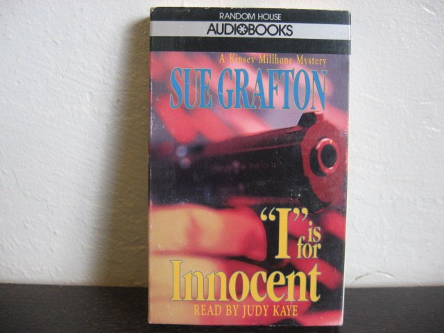 Sue Crafton I is for Innocent Audiobook Cassette